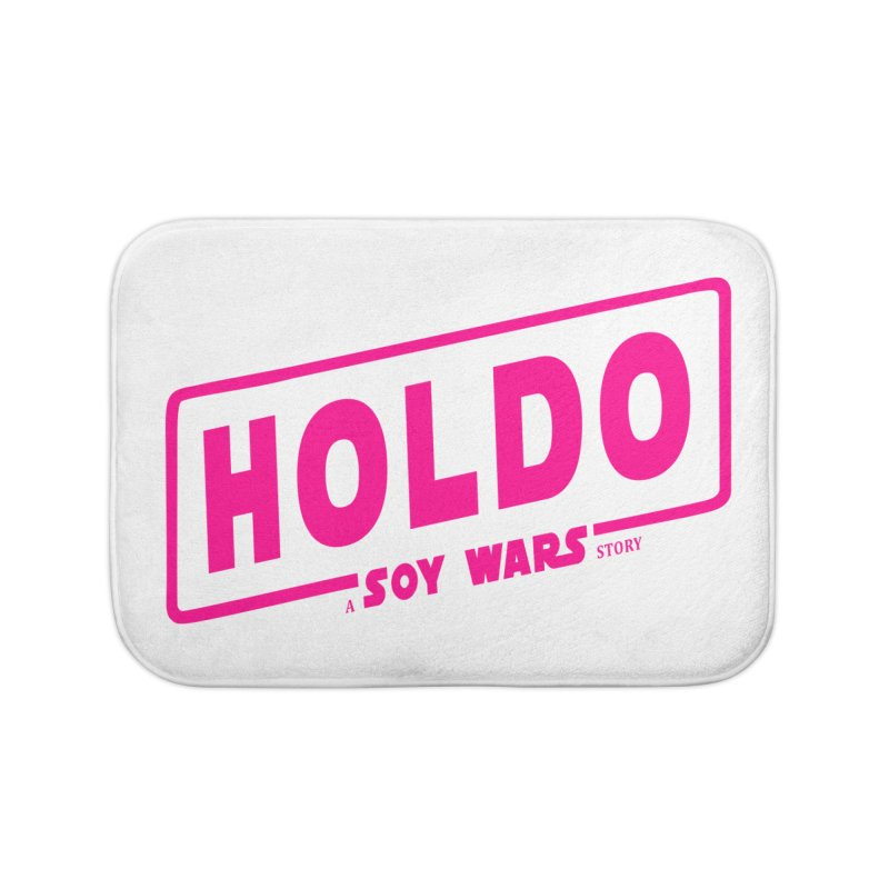 Holdo a SOY Wars Story Pink Home Bath Mat by ratherkool's Artist Shop