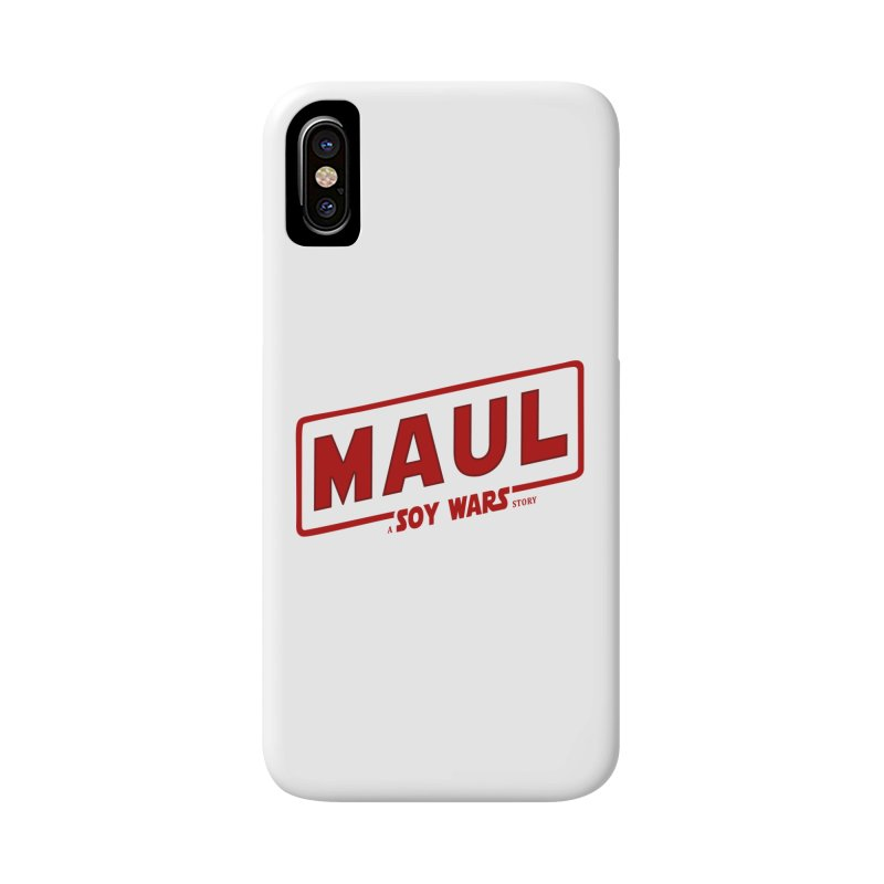 Maul a SOY Wars Story 2 Accessories Phone Case by ratherkool's Artist Shop