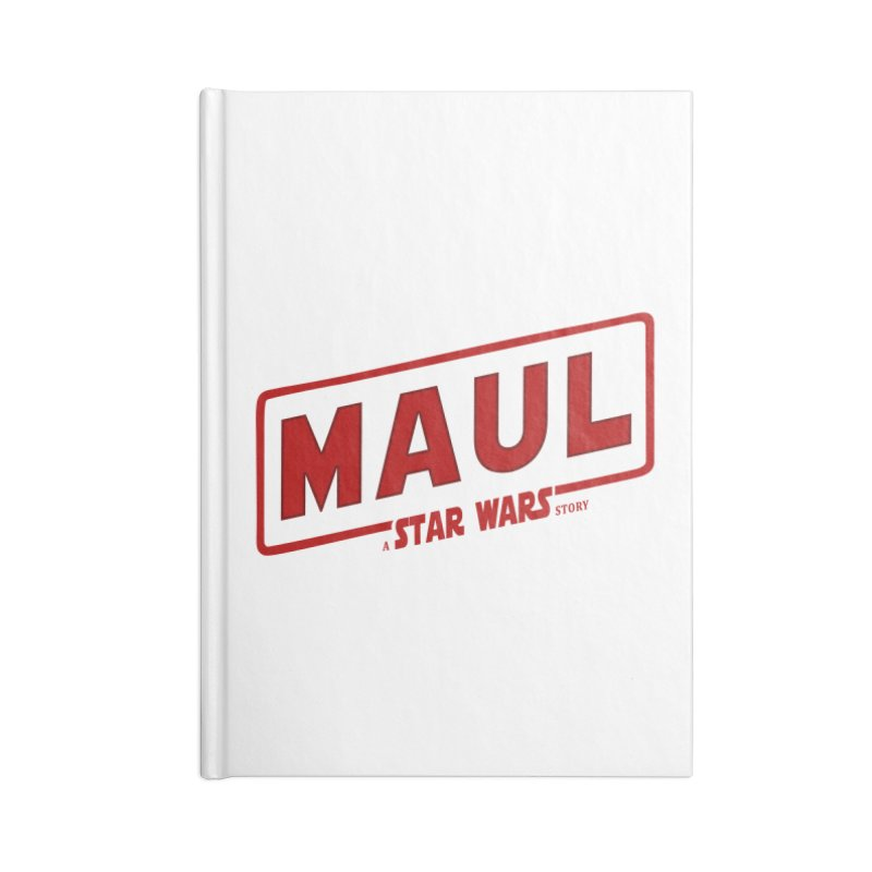 Maul a Star Wars Story 2 Accessories Notebook by ratherkool's Artist Shop