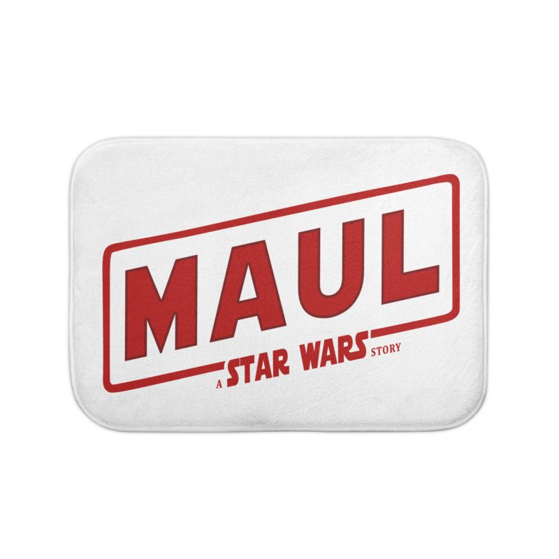 Maul a Star Wars Story 2 Home Bath Mat by ratherkool's Artist Shop