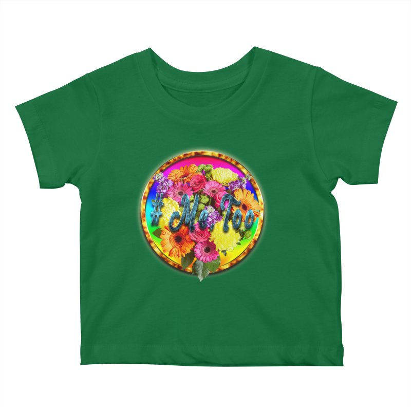 #Me Too Patch Kids Baby T-Shirt by ratherkool's Artist Shop