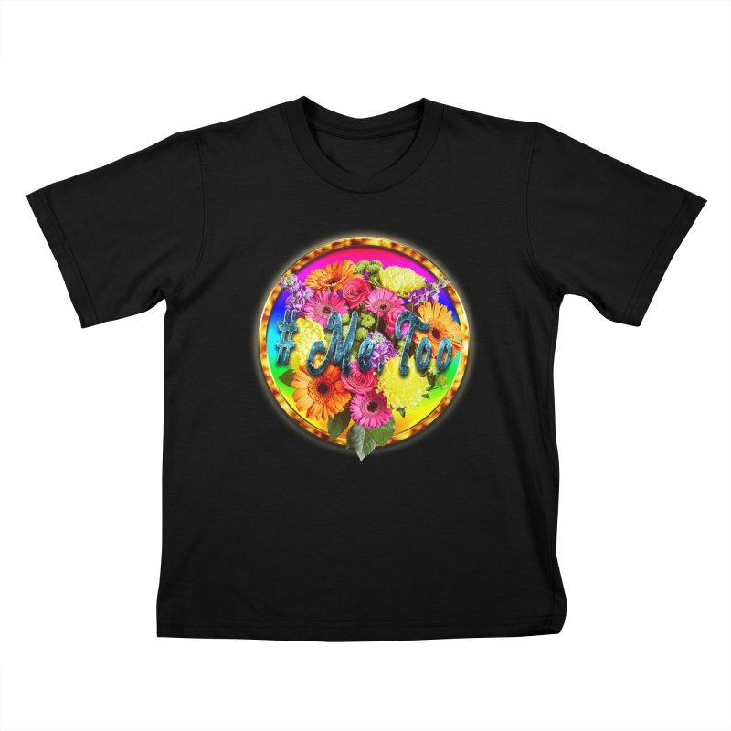 #Me Too Patch Kids T-Shirt by ratherkool's Artist Shop