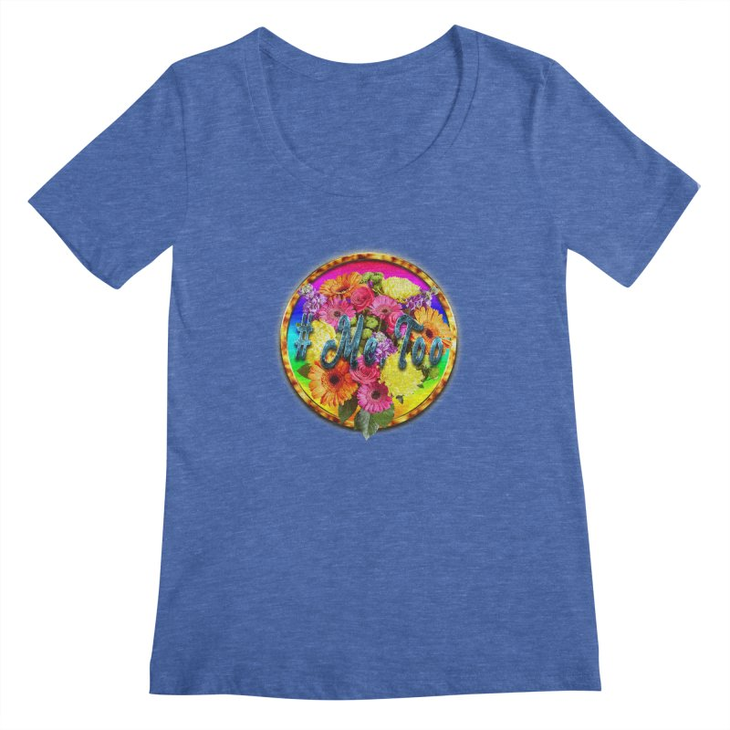 #Me Too Patch Women's Scoopneck by ratherkool's Artist Shop