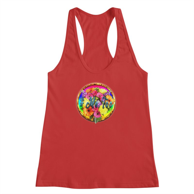#Me Too Patch Women's Racerback Tank by ratherkool's Artist Shop