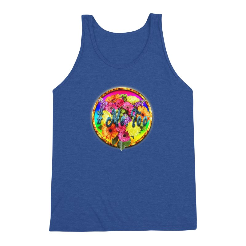 #Me Too Patch Men's Triblend Tank by ratherkool's Artist Shop