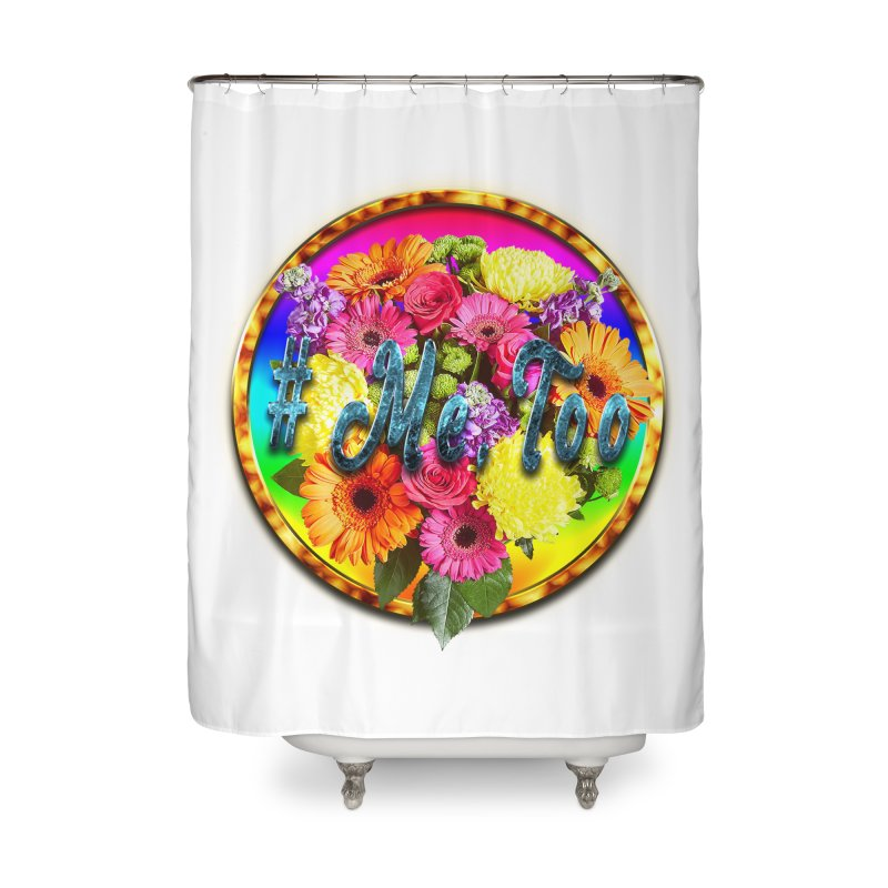 #Me Too Patch Home Shower Curtain by ratherkool's Artist Shop