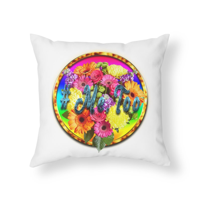 #Me Too Patch Home Throw Pillow by ratherkool's Artist Shop