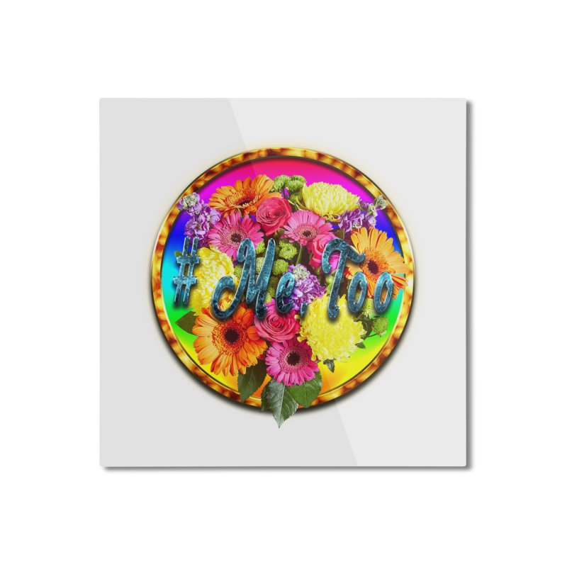 #Me Too Patch Home Mounted Aluminum Print by ratherkool's Artist Shop