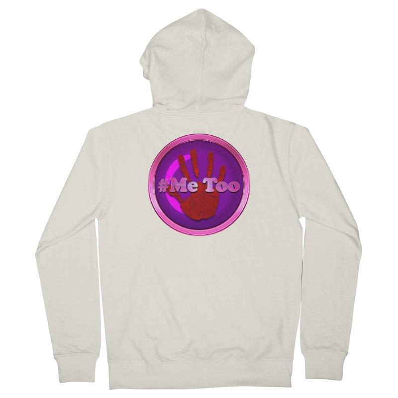 #Me too Hand Patch 2 Women's Zip-Up Hoody by ratherkool's Artist Shop