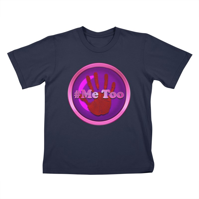 #Me too Hand Patch 2 Kids T-Shirt by ratherkool's Artist Shop