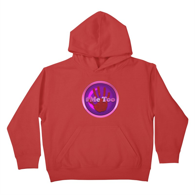 #Me too Hand Patch 2 Kids Pullover Hoody by ratherkool's Artist Shop