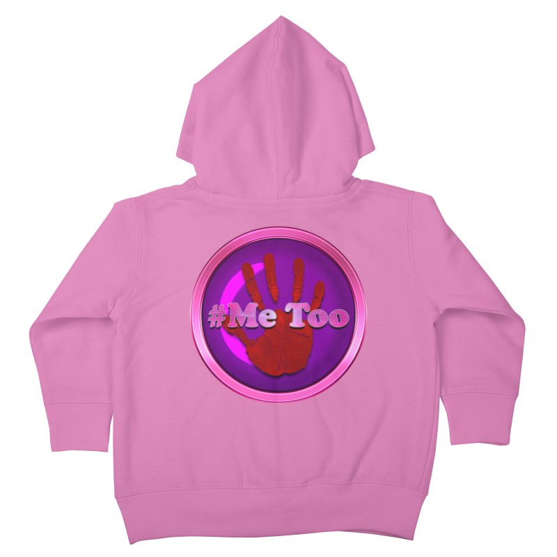 #Me too Hand Patch 2 Kids Toddler Zip-Up Hoody by ratherkool's Artist Shop