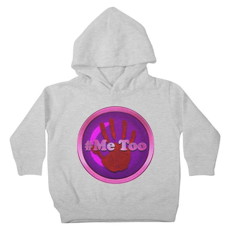 #Me too Hand Patch 2 Kids Toddler Pullover Hoody by ratherkool's Artist Shop