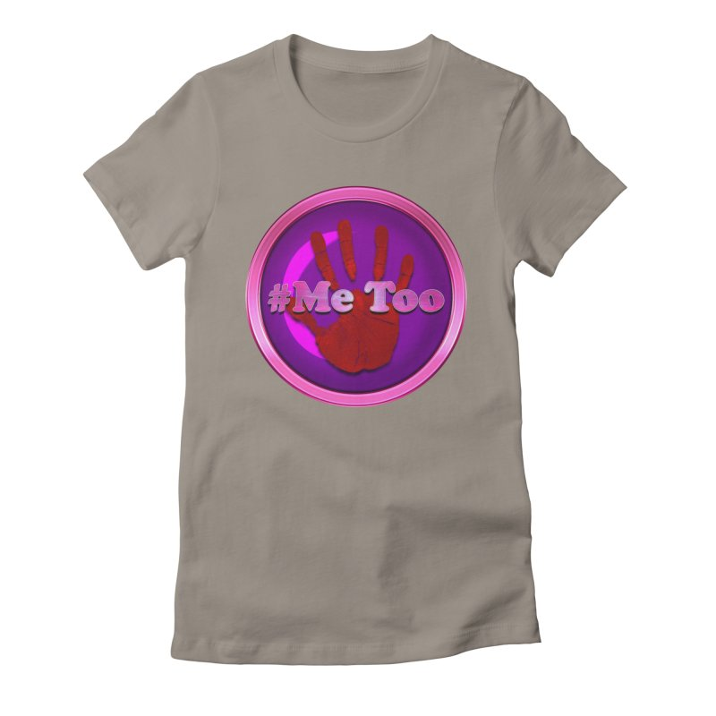 #Me too Hand Patch 2 Women's Fitted T-Shirt by ratherkool's Artist Shop