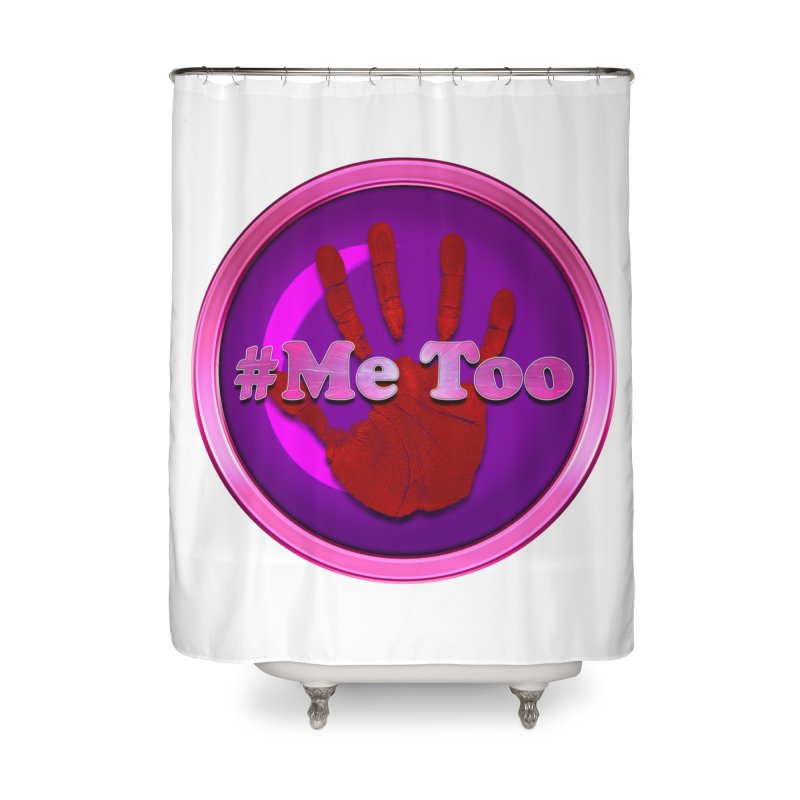 #Me too Hand Patch 2 Home Shower Curtain by ratherkool's Artist Shop