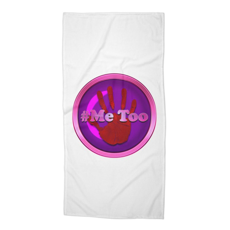 #Me too Hand Patch 2 Accessories Beach Towel by ratherkool's Artist Shop