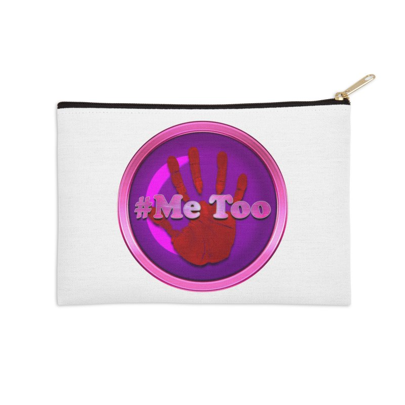 #Me too Hand Patch 2 Accessories Zip Pouch by ratherkool's Artist Shop