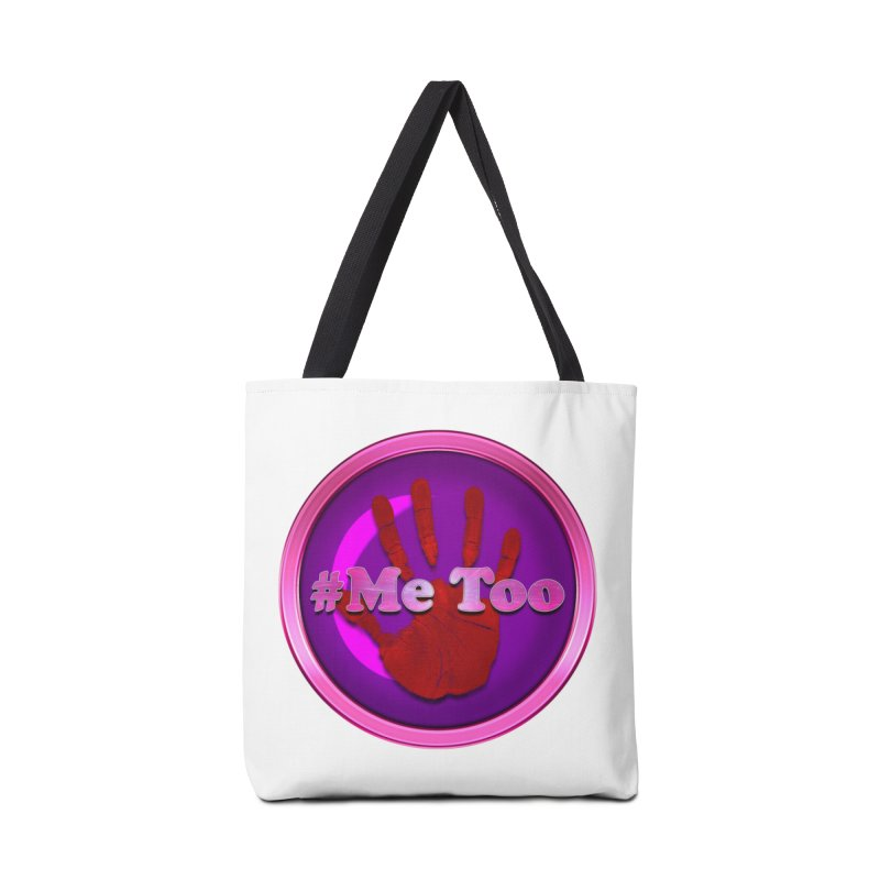 #Me too Hand Patch 2 Accessories Bag by ratherkool's Artist Shop