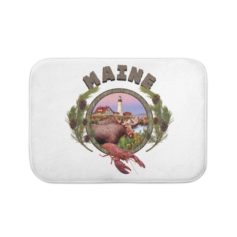 Maine Moose Home  by ratherkool's Artist Shop