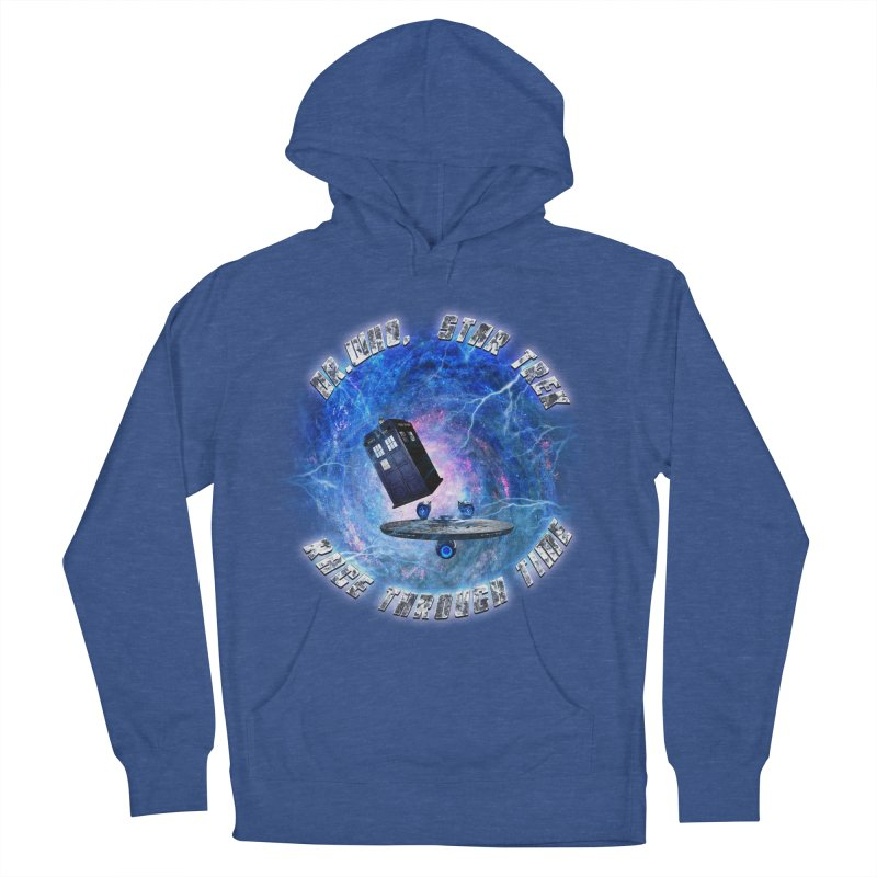 Dr Who Star Trek Race Through Time 2 Women's Pullover Hoody by ratherkool's Artist Shop