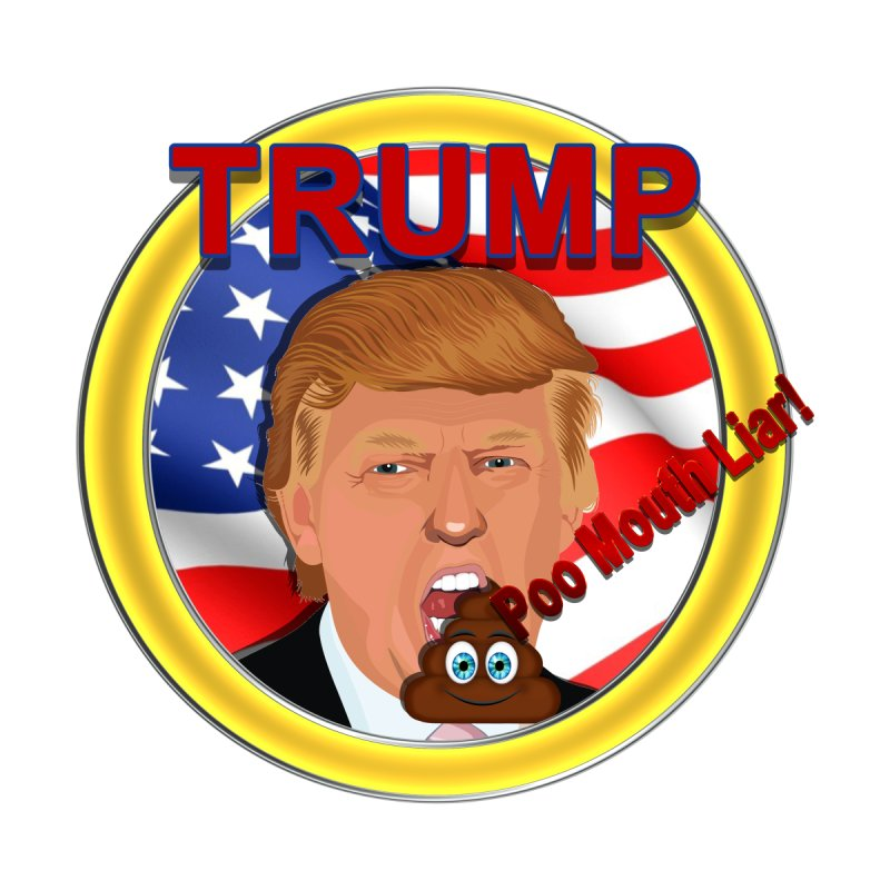 Trump a Poo Mouth Liar Accessories Beach Towel by ratherkool's Artist Shop