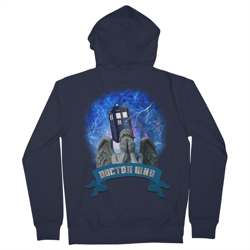 Doctor Who Return of the Weeping Angels Men's Zip-Up Hoody by ratherkool's Artist Shop