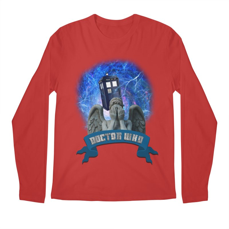 Doctor Who Return of the Weeping Angels Men's Longsleeve T-Shirt by ratherkool's Artist Shop
