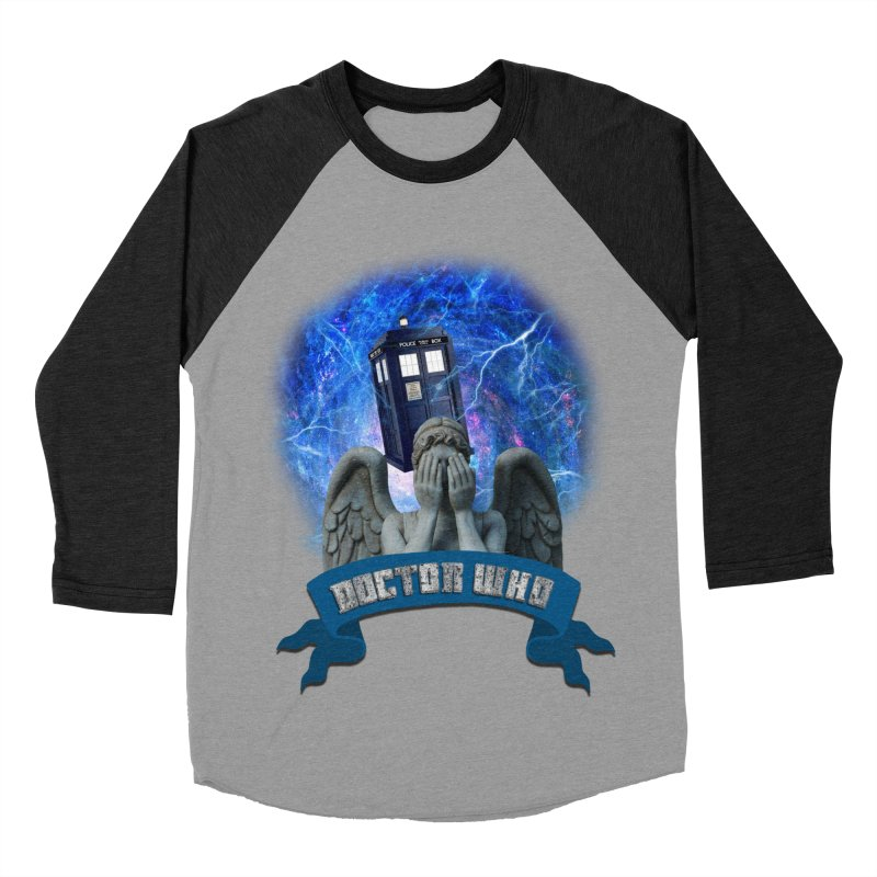 Doctor Who Return of the Weeping Angels Men's Baseball Triblend T-Shirt by ratherkool's Artist Shop