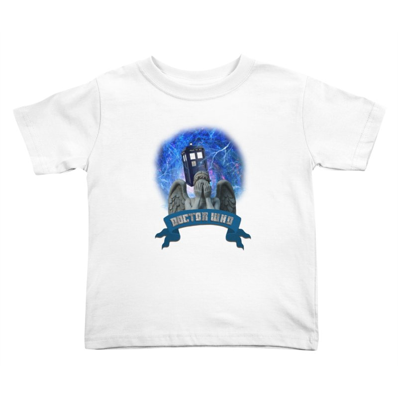Doctor Who Return of the Weeping Angels Kids Toddler T-Shirt by ratherkool's Artist Shop