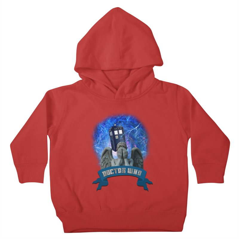 Doctor Who Return of the Weeping Angels Kids Toddler Pullover Hoody by ratherkool's Artist Shop