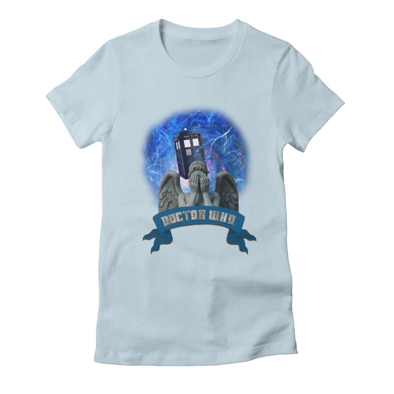 Doctor Who Return of the Weeping Angels Women's Fitted T-Shirt by ratherkool's Artist Shop