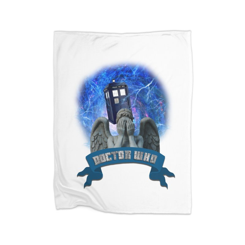 Doctor Who Return of the Weeping Angels Home Blanket by ratherkool's Artist Shop