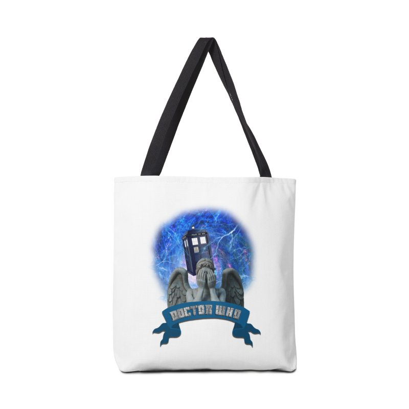 Doctor Who Return of the Weeping Angels Accessories Bag by ratherkool's Artist Shop