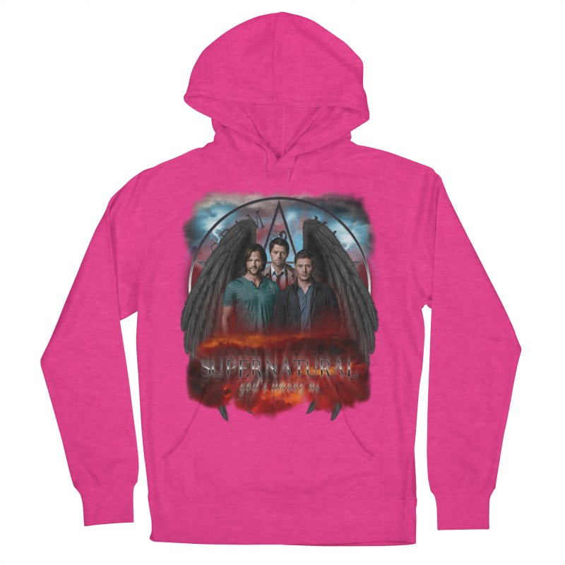 Supernatural Gods Among Us Women's Pullover Hoody by ratherkool's Artist Shop