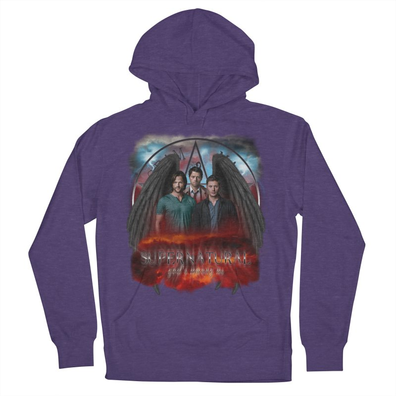 Supernatural Gods Among Us Men's Pullover Hoody by ratherkool's Artist Shop