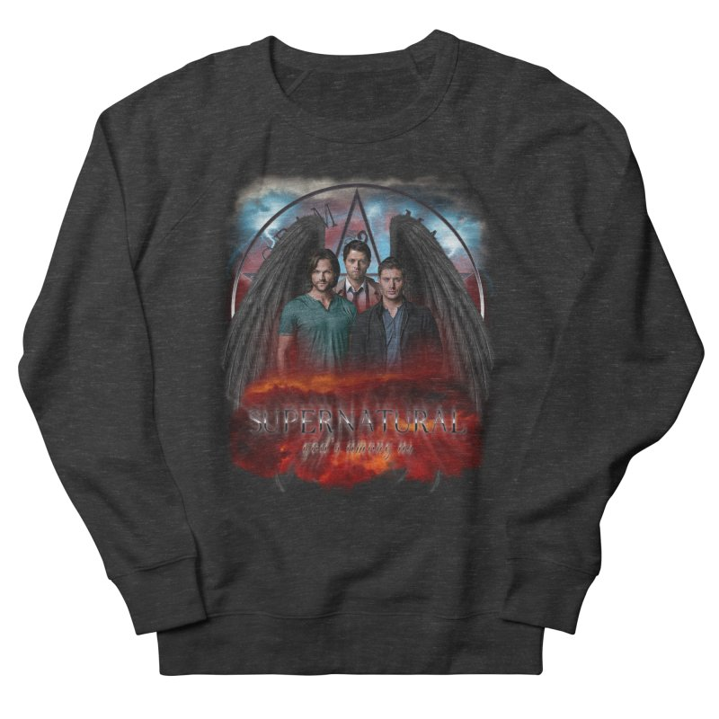 Supernatural Gods Among Us Women's Sweatshirt by ratherkool's Artist Shop