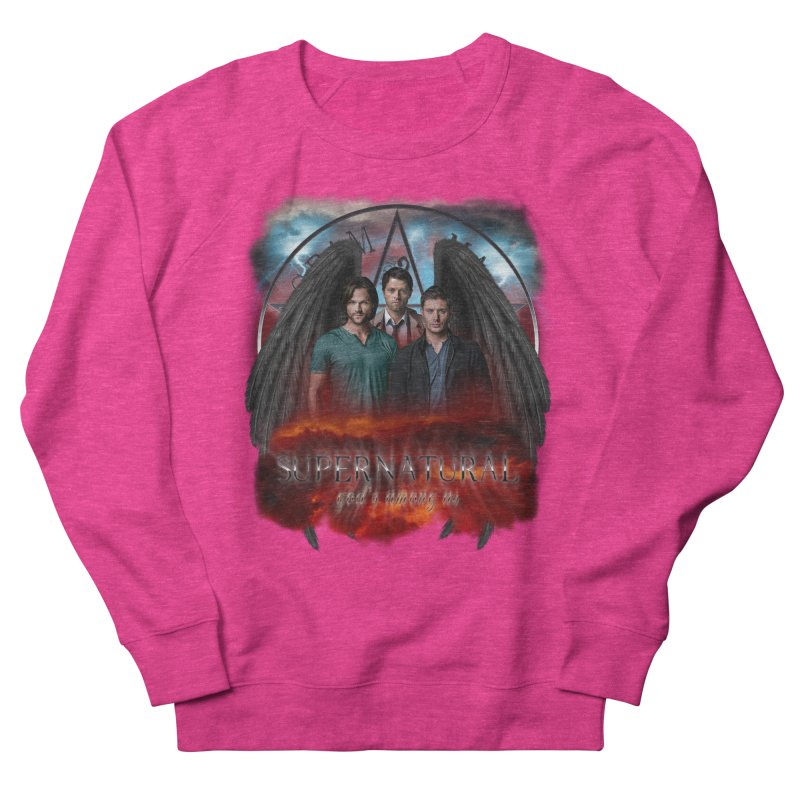 Supernatural Gods Among Us Men's Sweatshirt by ratherkool's Artist Shop