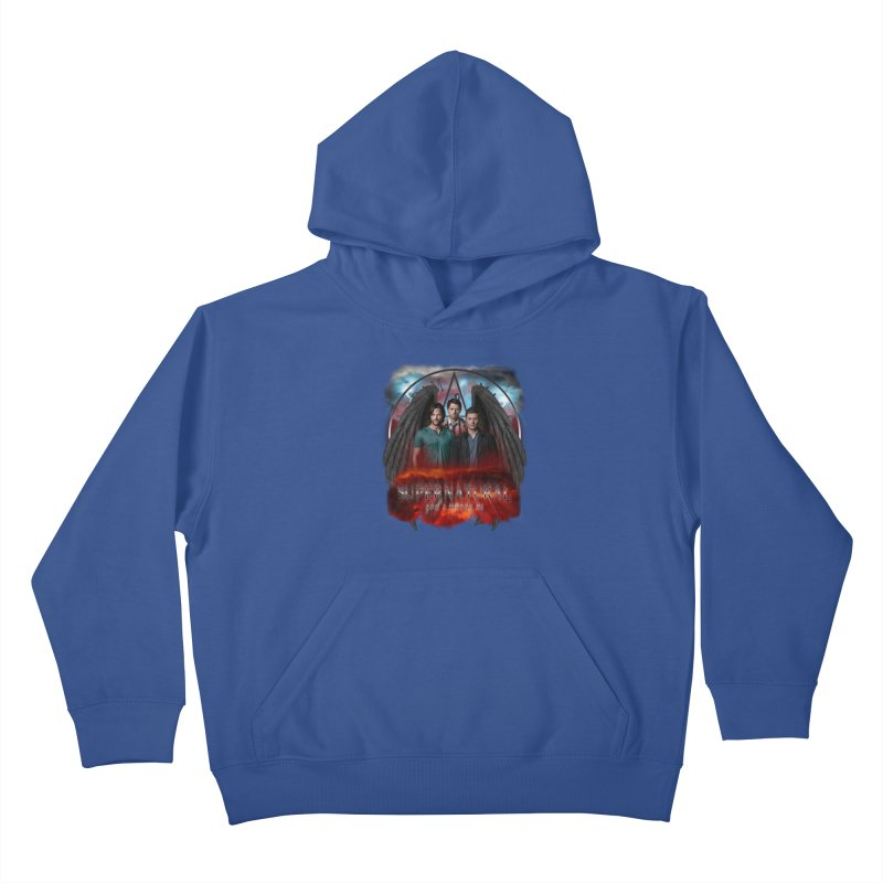 Supernatural Gods Among Us Kids Pullover Hoody by ratherkool's Artist Shop