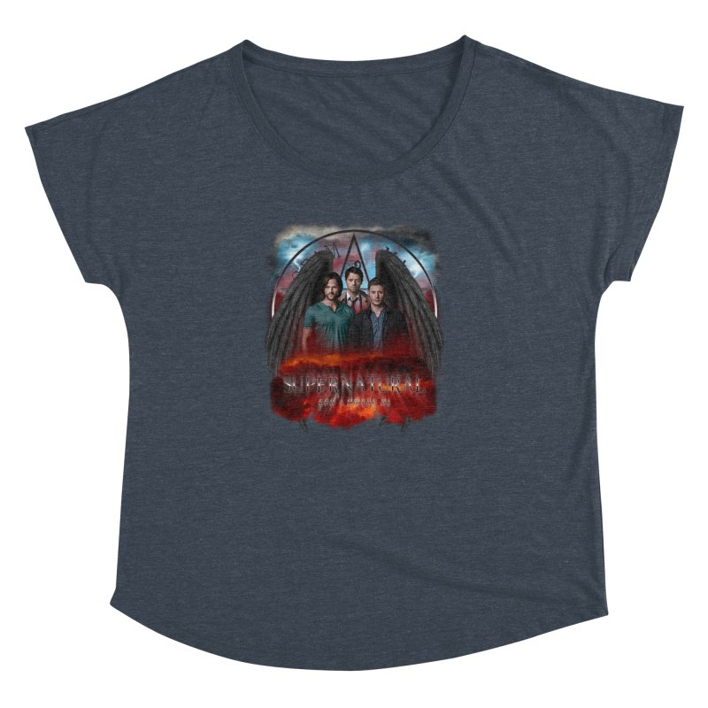 Supernatural Gods Among Us Women's Dolman by ratherkool's Artist Shop