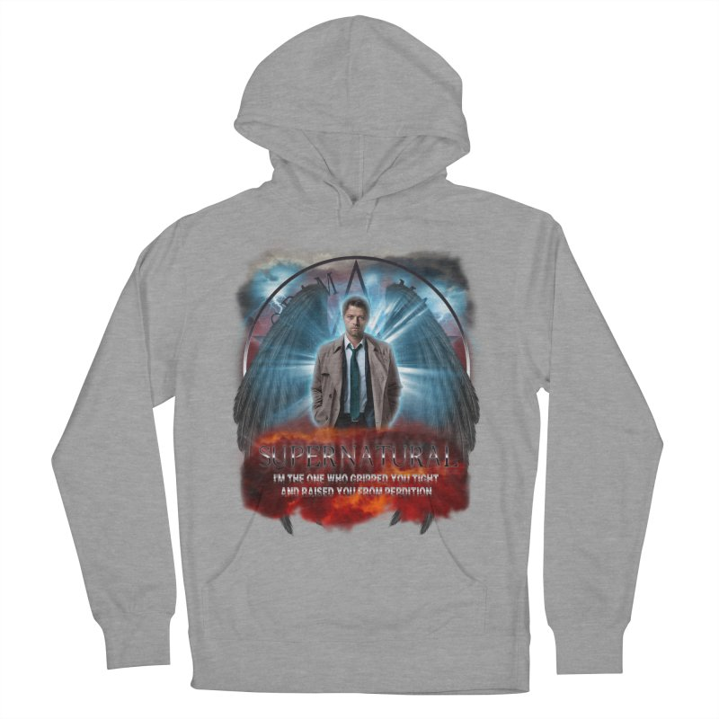 Supernatural Castiel  Women's Pullover Hoody by ratherkool's Artist Shop