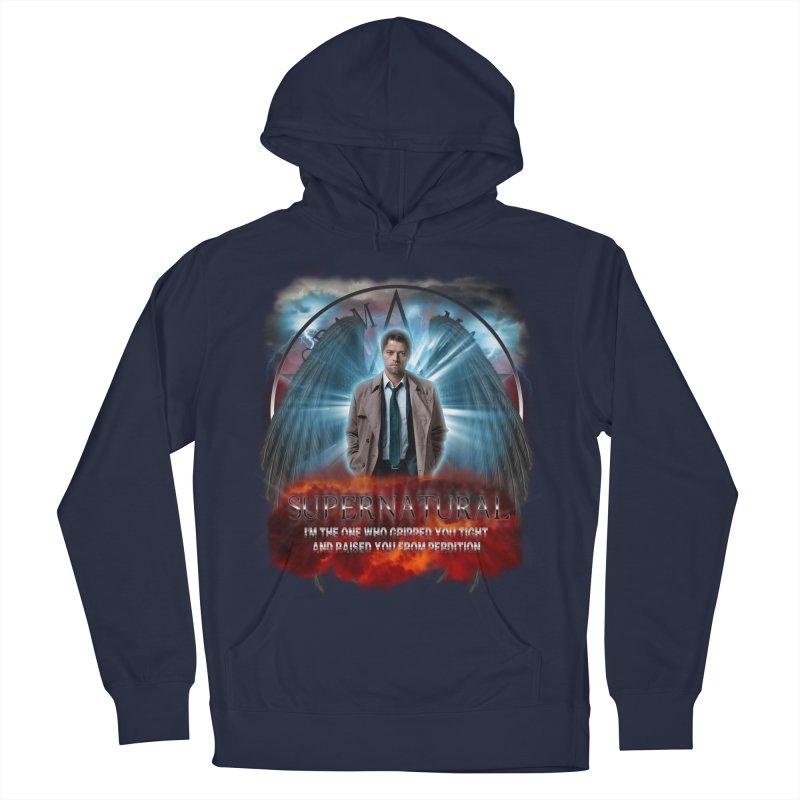 Supernatural Castiel  Women's Pullover Hoody by ratherkool's Artist Shop