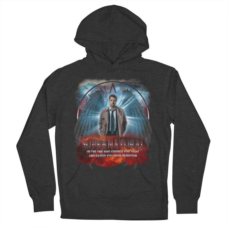 Supernatural Castiel  Men's Pullover Hoody by ratherkool's Artist Shop