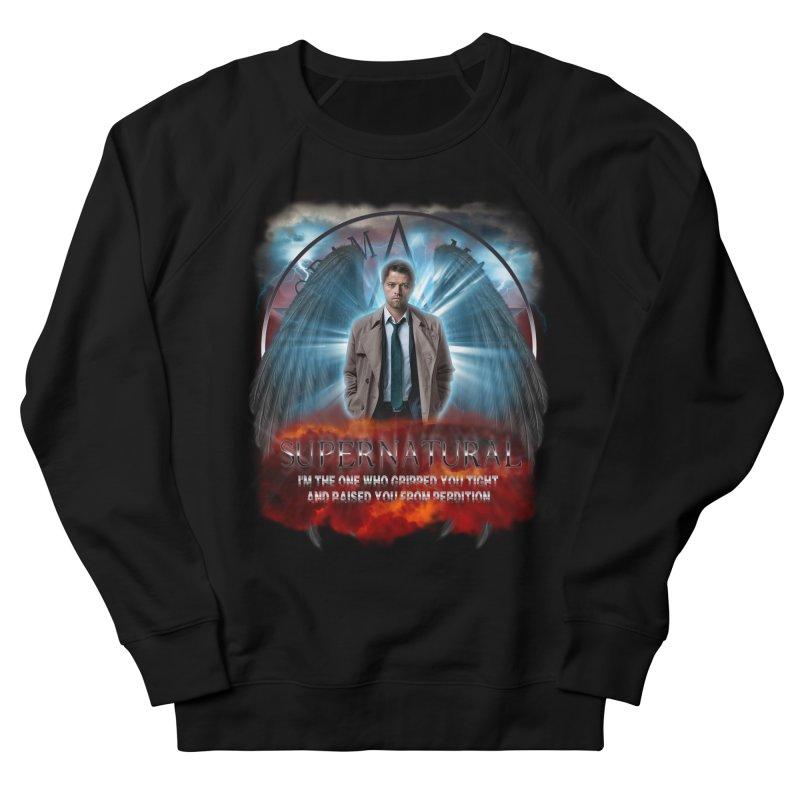 Supernatural Castiel  Women's Sweatshirt by ratherkool's Artist Shop