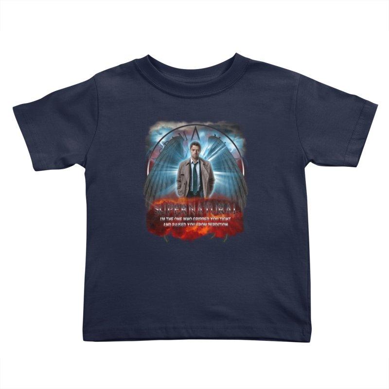 Supernatural Castiel  Kids Toddler T-Shirt by ratherkool's Artist Shop