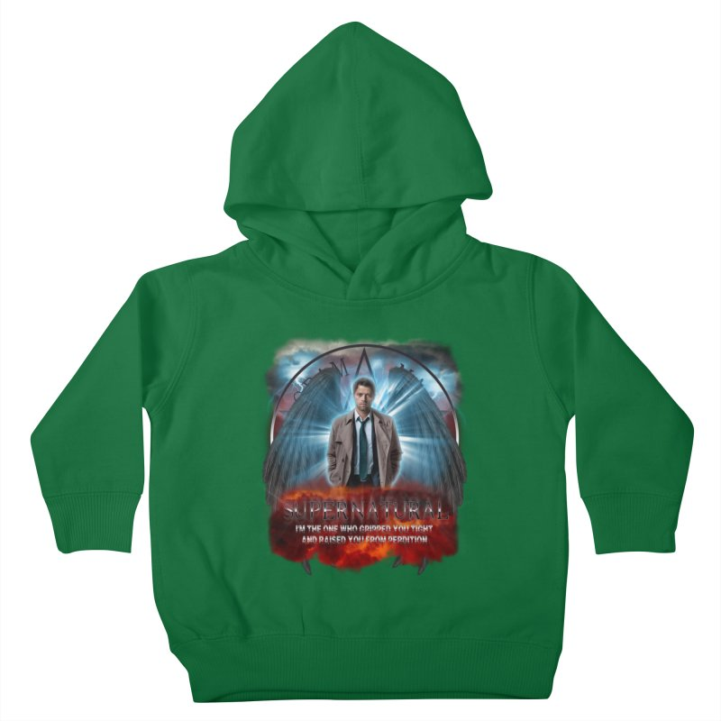 Supernatural Castiel  Kids Toddler Pullover Hoody by ratherkool's Artist Shop