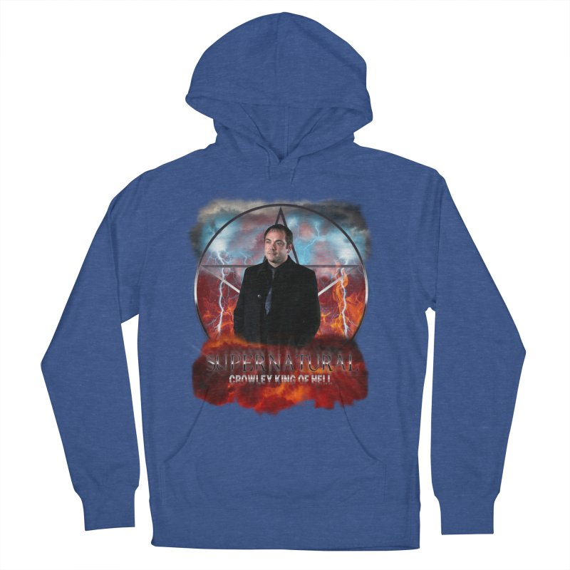 Supernatural Crowley King of Hell Women's Pullover Hoody by ratherkool's Artist Shop
