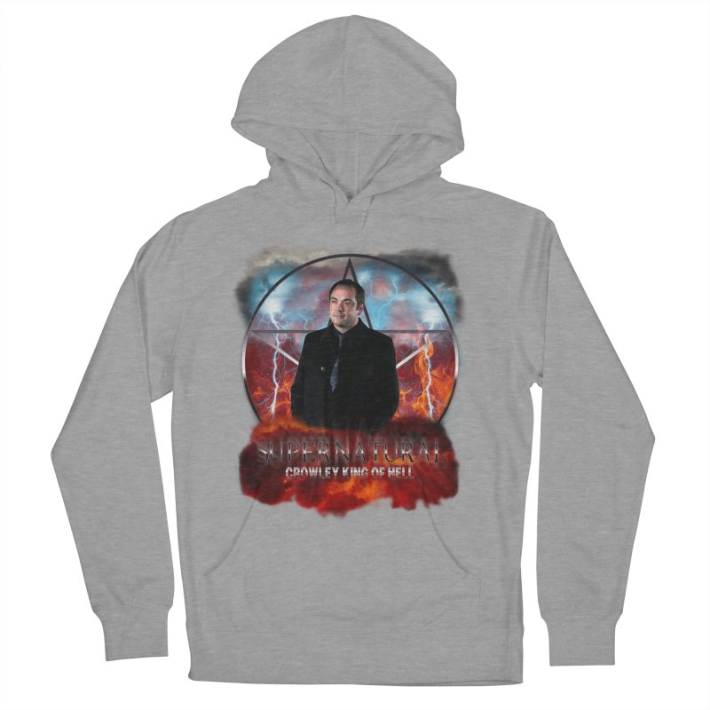 Supernatural Crowley King of Hell Men's Pullover Hoody by ratherkool's Artist Shop