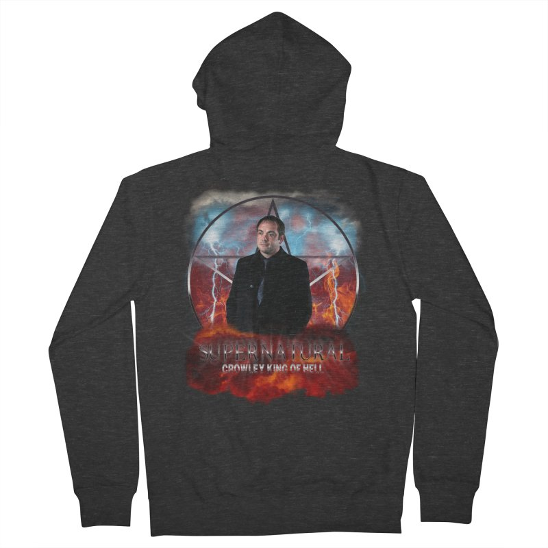 Supernatural Crowley King of Hell   by ratherkool's Artist Shop