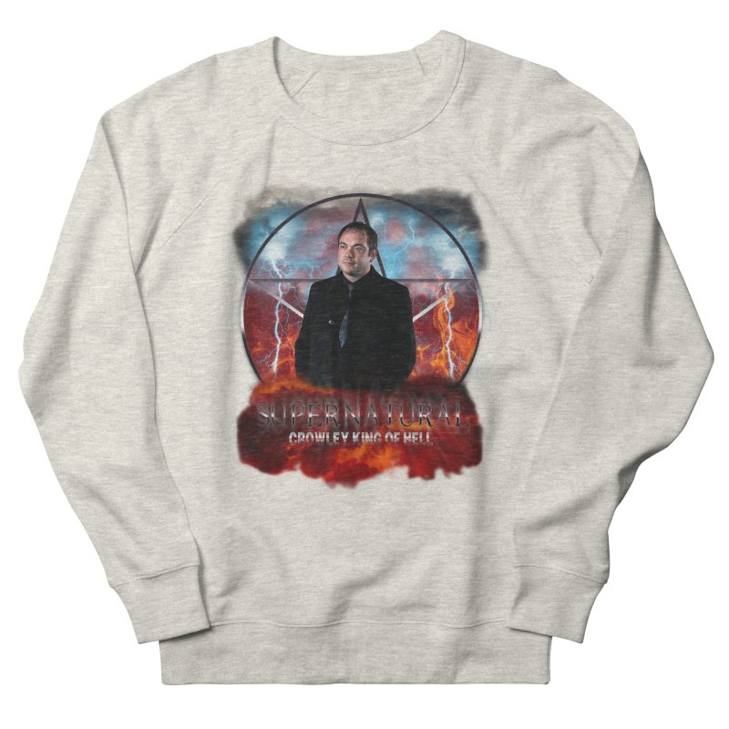 Supernatural Crowley King of Hell Men's Sweatshirt by ratherkool's Artist Shop