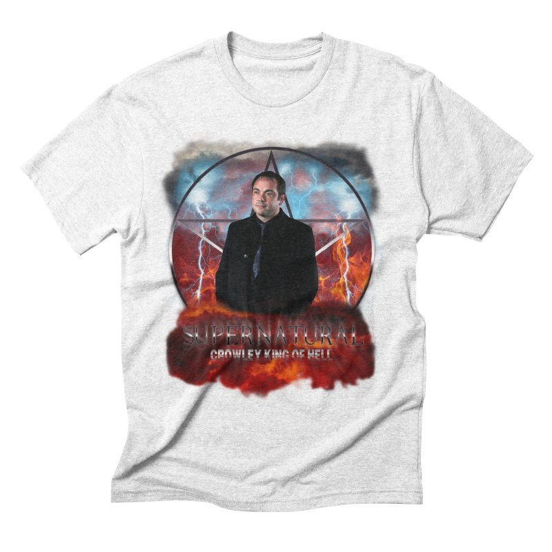 Supernatural Crowley King of Hell Men's Triblend T-shirt by ratherkool's Artist Shop